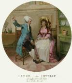 Lingo & Cowslip (Restrike Etching) by Singleton