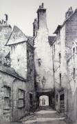 Edinburgh (Canongate) (Restrike Etching)