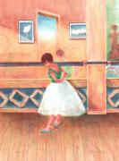 Flicka i balettsal by Al Wagiella