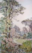 Spring Morning (Restrike Etching) by Edward Slocombe