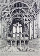 Lincoln Inn Hall (Restrike Etching) by Anonymous
