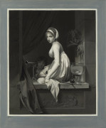 A Girl At Window, 1799 by Louis-Leopold Boilly