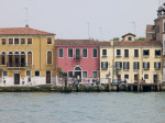 Italy, Venice, houses by canal by Assaf Frank