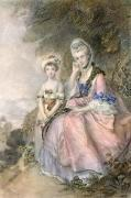 Countess of Essex, Lady Delvert (Restrike Etching) by Thomas Gainsborough