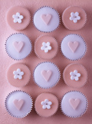 Pink Cupcakes IV by Assaf Frank