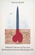 Scissors as Monument, 1968 by Claes Oldenburg