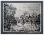 River Scene by Paul Signac