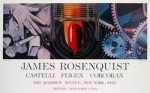 While the Earth revolved at night, 1982 by James Rosenquist