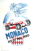 Monaco Grand Prix, 1950 by B. Minne
