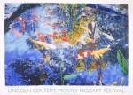 Pond with goldfish, 2004 by Joseph Raffael