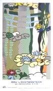 Water Lilies with Japanese Bridge by Roy Lichtenstein