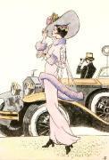 Ascot (Art Deco) (Restrike Etching)