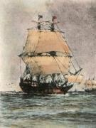 Mayflower, The (Restrike Etching) by Wilde Parsons