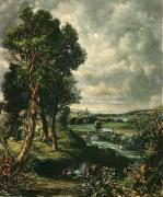 Dedham Vale (Restrike Etching) by John Constable