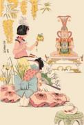 Oriental - Buddha (Restrike Etching) by Geoffrey S. Garnier