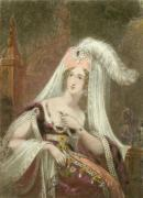 Rebecca (Restrike Etching) by H. Harding