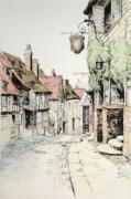 Marmaid street, Rye (Restrike Etching) by Anonymous