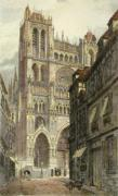 Amiens, France (Restrike Etching) by Anonymous