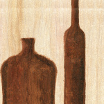 Tuscan Bottles II by Erin Rafferty