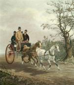 Tandem (Restrike Etching) by Henry Alken