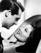 Cary Grant with Katharine Hepburn (Bringing Up Baby)