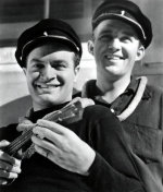Bob Hope with Bing Crosby (Road to Singapore)