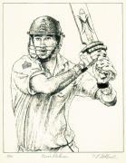 Kevin Pietersen (Restrike Etching)