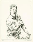Shane Warne (Restrike Etching)