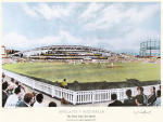England -v- Australia (large) (Restrike Etching) by Terence Gilbert