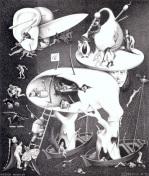 Hell by M.C. Escher