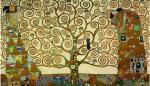 The Tree of Life - Stoclet Frieze by Gustav Klimt