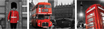 London (Triptych) by Anonymous