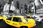 Rush Hour Times Square (Yellow Cabs) by Anonymous
