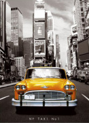 New York - Taxi No.1 by Anonymous
