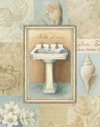 Tranquil Bath I by Lisa Audit