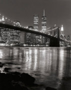 Brooklyn Bridge with World Trade Center by Christopher Bliss