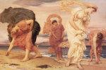 Greek Girls Picking up Pebbles by Edmund Blair Leighton