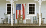 Chair Family with Flags by Zhen-Huan Lu