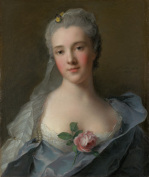 Manon Balletti by Jean-Marc Nattier