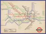 London Underground (Vintage 1936 Map)