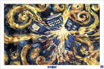 Doctor Who - Exploding Tardis by Anonymous