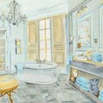 Salle de Bains II by Sarah McGuire
