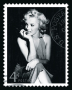 Movie Stamp IV by The Vintage Collection