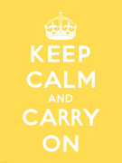 Keep Calm and Carry On V by Anonymous