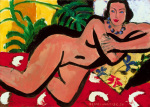 Nude with Palms, 1936 by Henri Matisse
