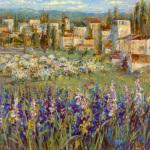 Provencal Village II by Longo