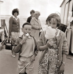 Ice-cream and candyfloss, Southend 1962 by Mirrorpix