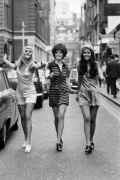 Fashion models London 1969
