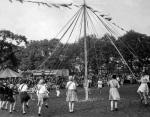 Maypole dancing, 1934 by Mirrorpix