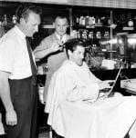 Barbers Streatham 1960